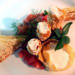τυροπιτάκι με κρέμα κατσικίσιου τυρίου